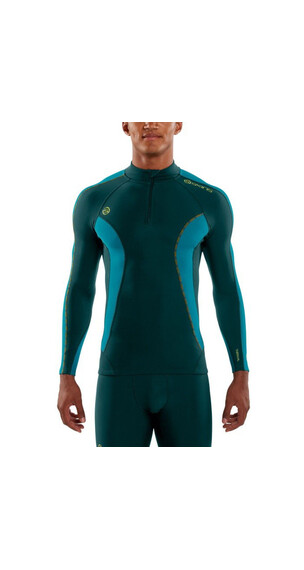 Skins M's DNAmic Thermal LS with Zip Alpine
